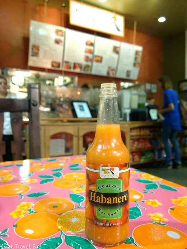 Chichen Itza Restaurant (Mercado La Paloma)- Los Angeles (University Park), CA: Habanero Sauce