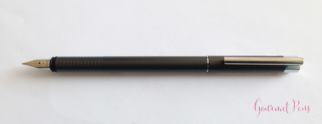 Review Lamy Logo Cliff Grey Fountain Pen @Fontoplum0 @Lamy (6)
