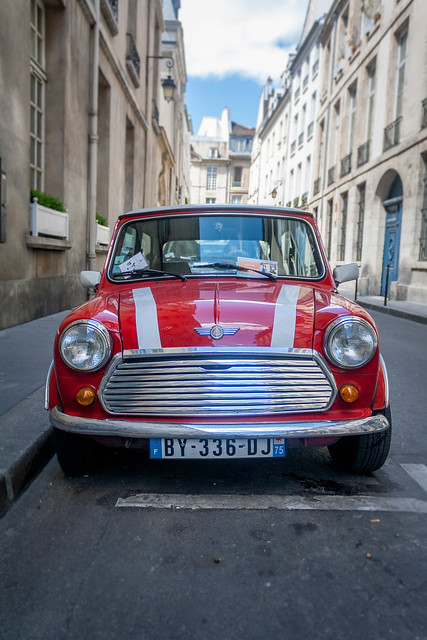 Mini Cooper, Paris