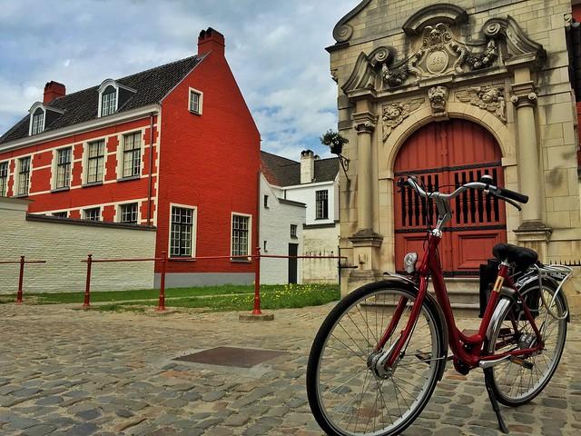 Ruta en bicicleta por Gante