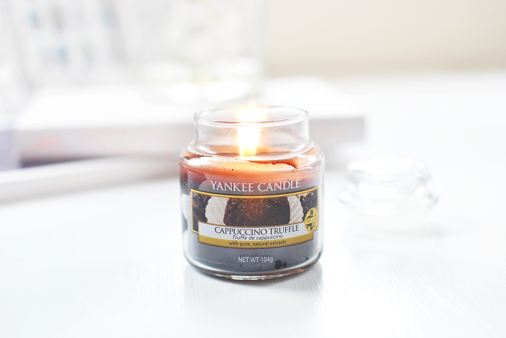 cappuccino truffle candle yankee candle