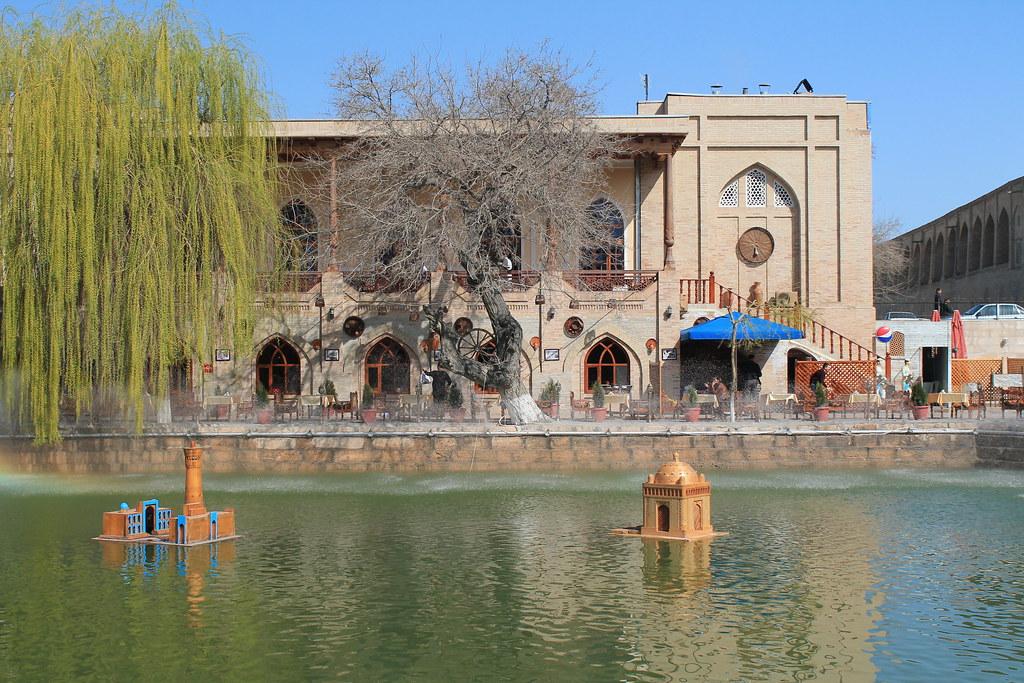 Lyabi Hauz, Bukhara, Uzbekistan