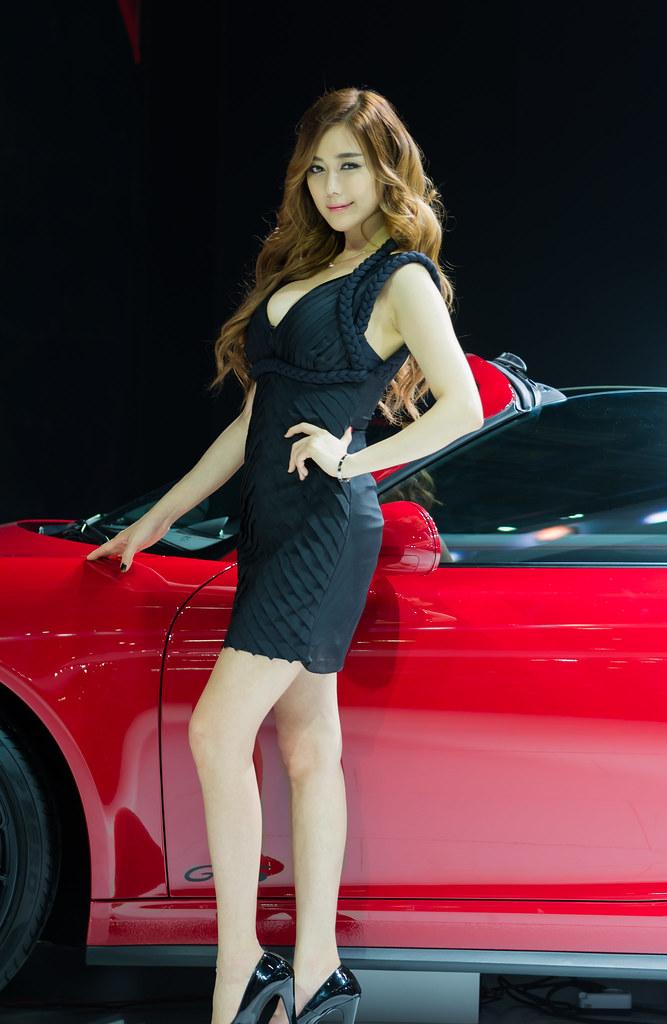2015 Seoul Motor Show Kim Ha Yul 김하율 2015 Seoul