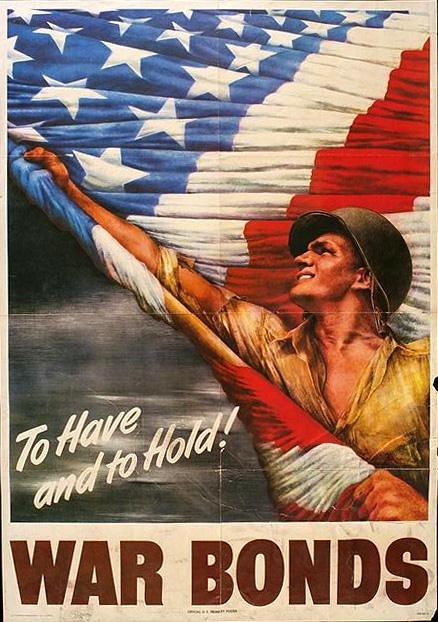 World War II Poster - War Bonds