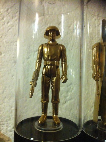 Vintage Star Wars Action Figures 24KT Gold Edition Death Squad Commander