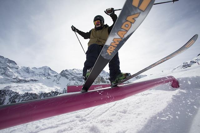 Freeski Camp 2015 - SKYLINE SNOWPARK