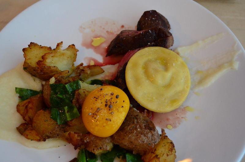 Brasstown Coulotte Crispy Potatoes Duck Egg