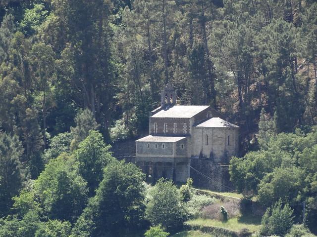 Monasterio de Santo Estevo de Chouzán en Carballedo