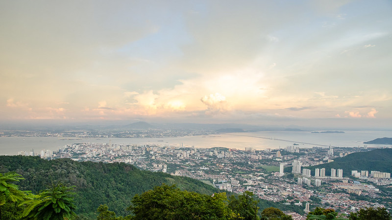 View from Penang Hill / Bukit Bendera