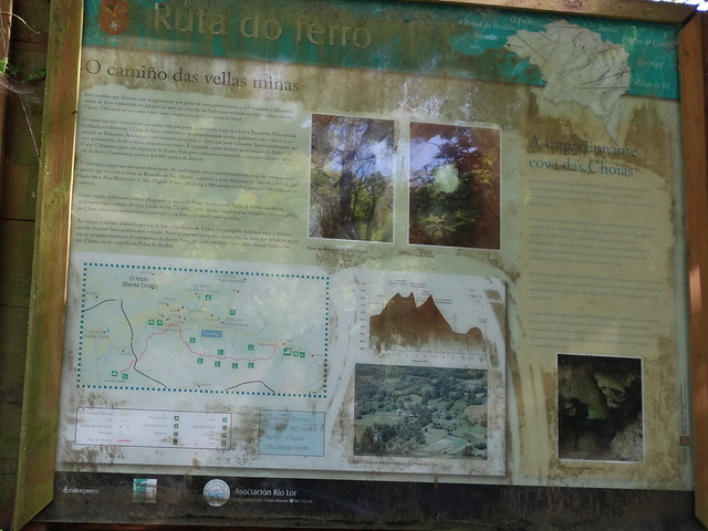Panel Informativo en la ruta do Ferro de O Incio