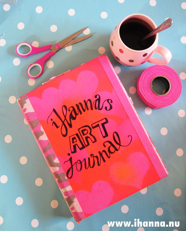 My altered book / art journal, by iHanna