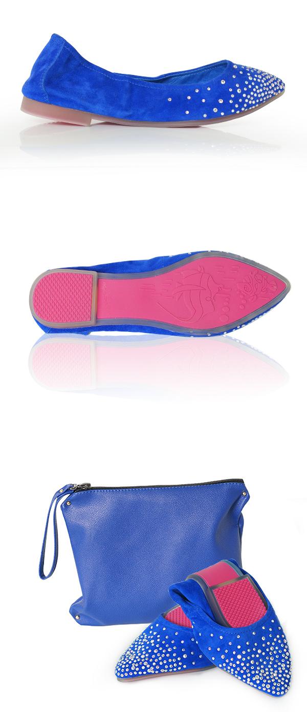 摺疊鞋,舒適的摺疊鞋讓穿著高跟鞋放鬆一下腳丫子,小小貼鑽更是耀眼奪目,口袋鞋輕輕鬆鬆帶著就走。