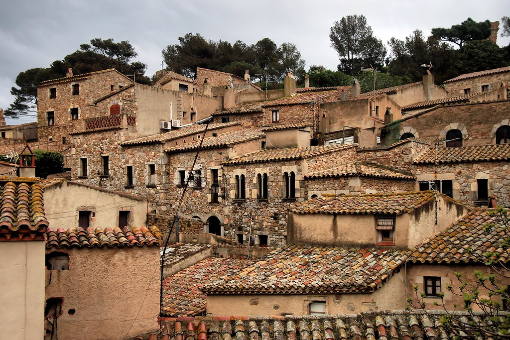 Tossa de Mar: Vila Vella  Tossa de Mar (Girona, Spain ...