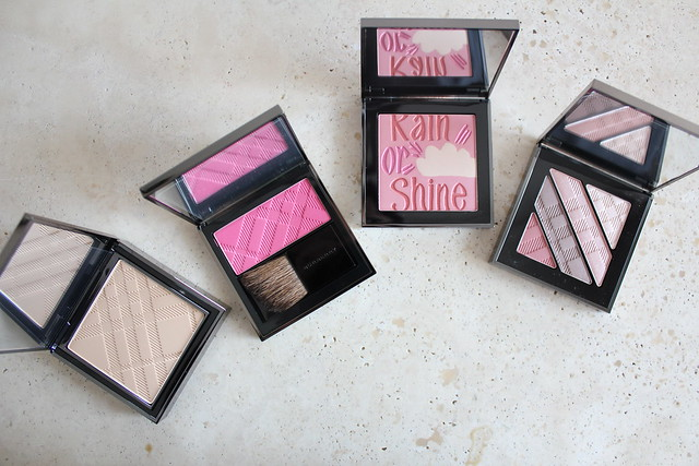 Burberry rain or shine palette spring summer 2015