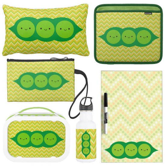Happy Peas in a Pod at Zazzle