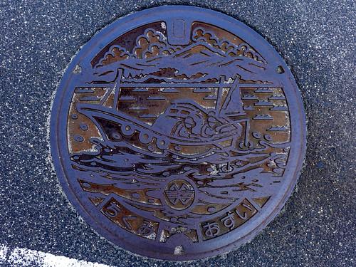 Chikumi Mihonoseki Shimane, manhole cover (島根県美保関町千酌のマンホール)