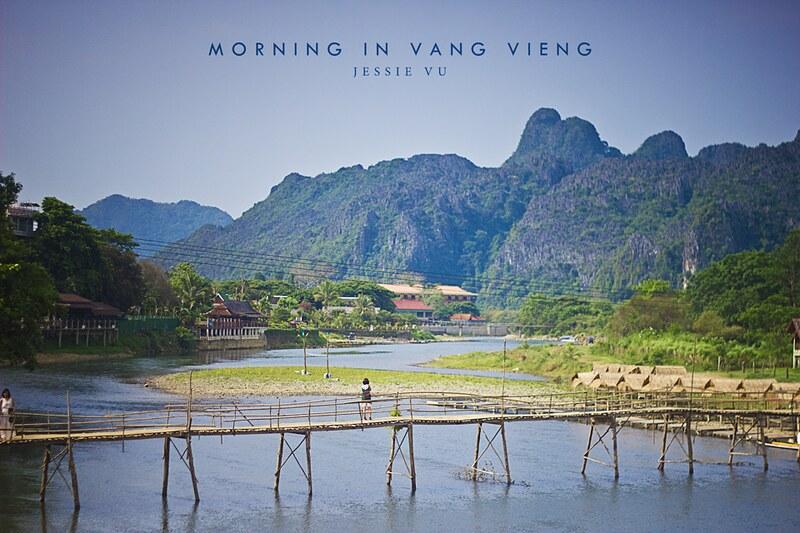 Nam Song River , Vang Vieng