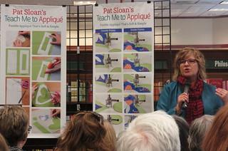 Pat Sloans booksigning