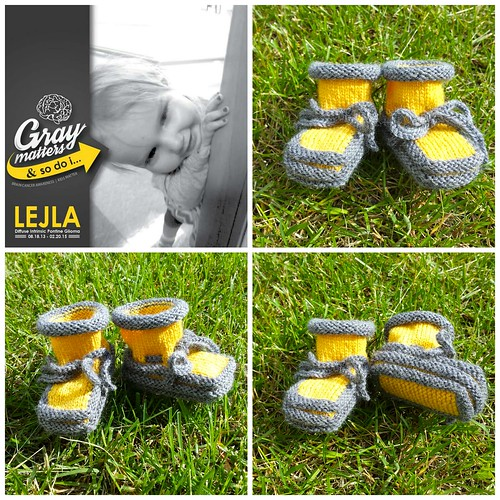 Booties for Lejla