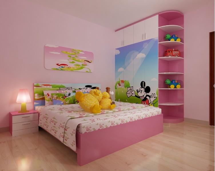 Thiết kế giường ngủ-quà tặng dành cho bé yêu
