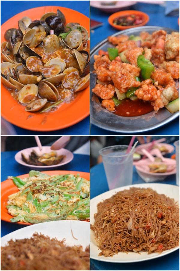 Chinese Dishes @ Lai Lai Seafood, Meldrum Walk