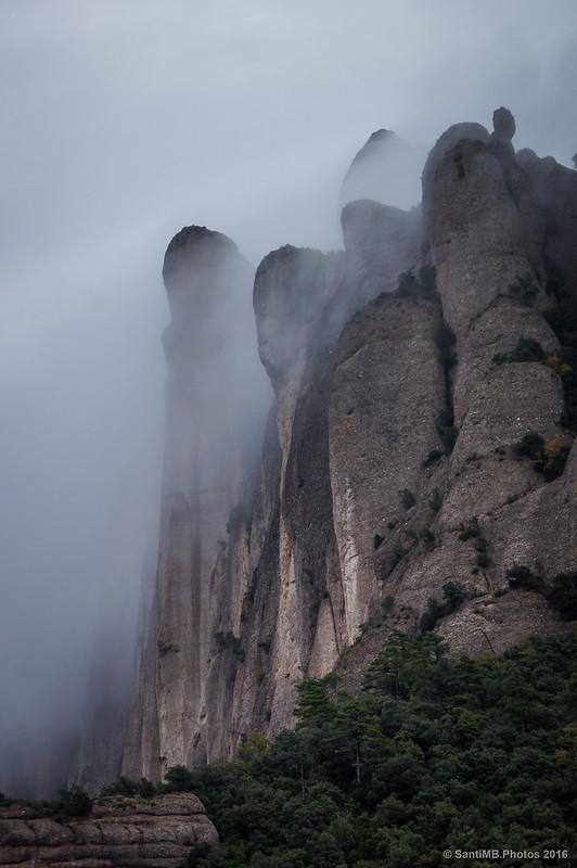Caída de niebla en l'Arbret