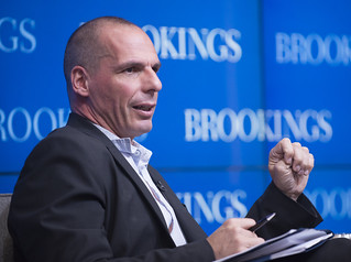 Greek Finance Minister Yanis Varoufakis sits down with Brookings Senior Fellow David Wessel to talk about the Greek economy and the country's economic reform options