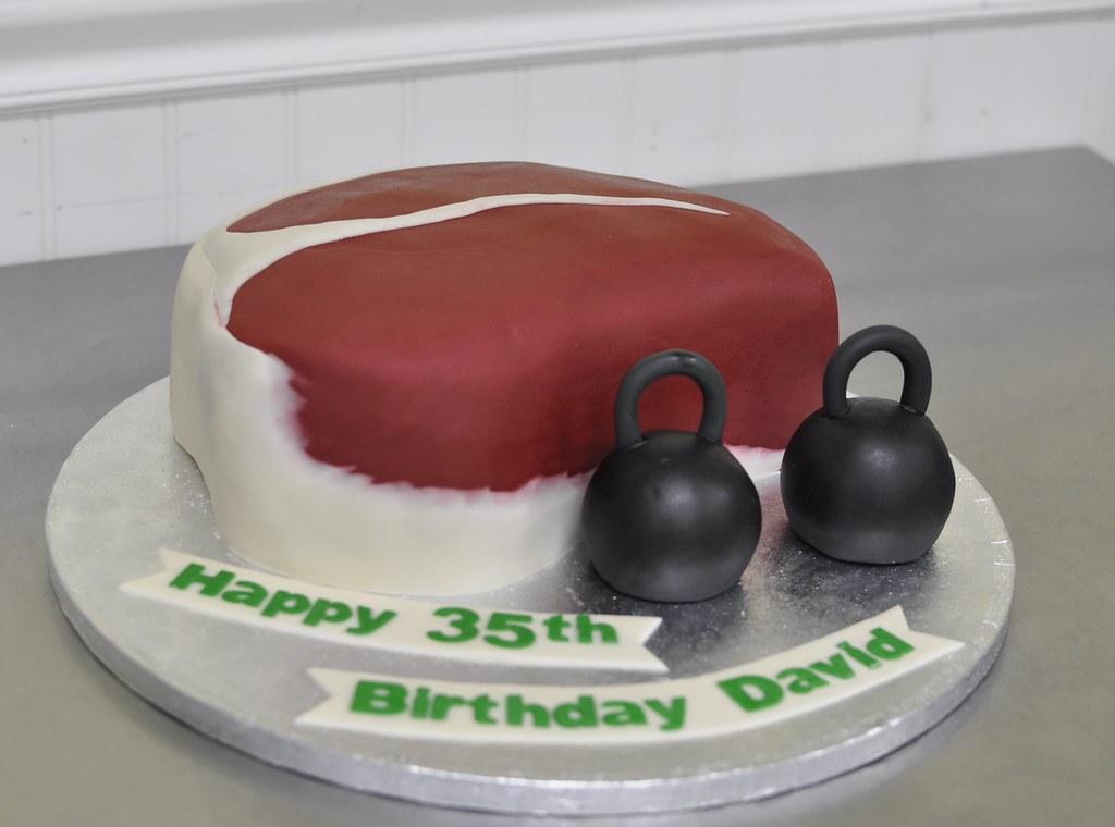 Kettlebell Cake Pan