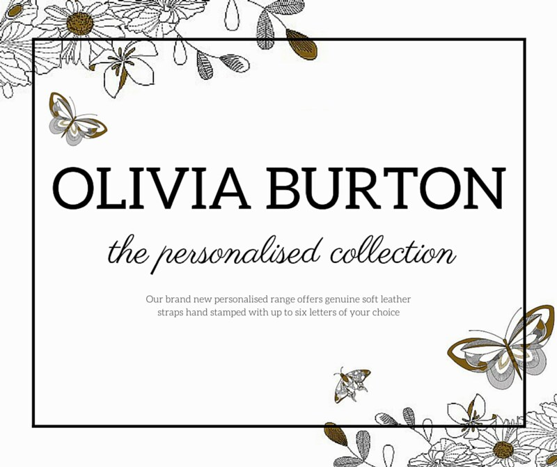 olivia burton new personalised collection