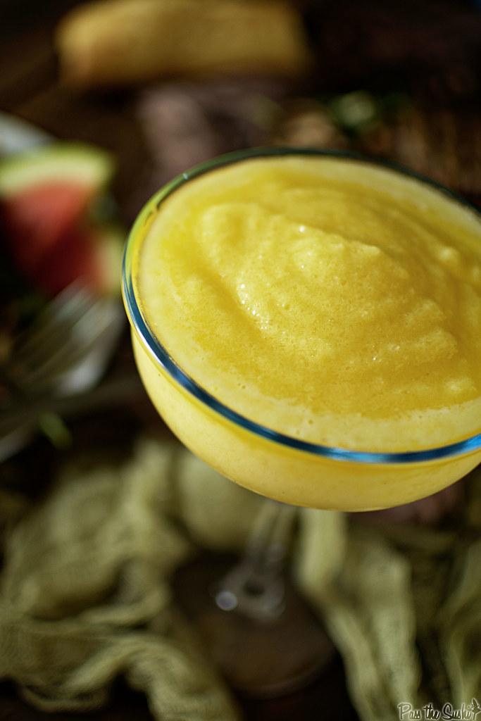 Fresh Pineapple Margaritas