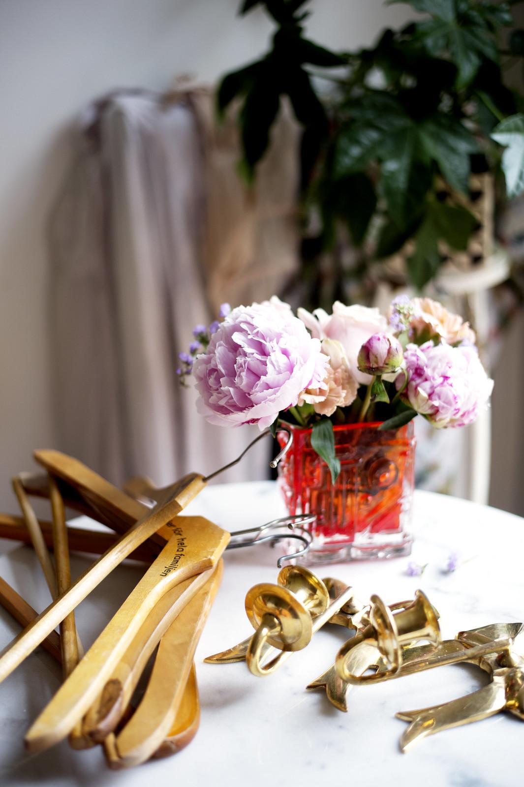 hägg och rosor
