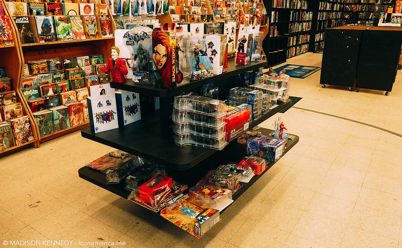 HI DE HO COMIC BOOK STORE GOT REVAMPED