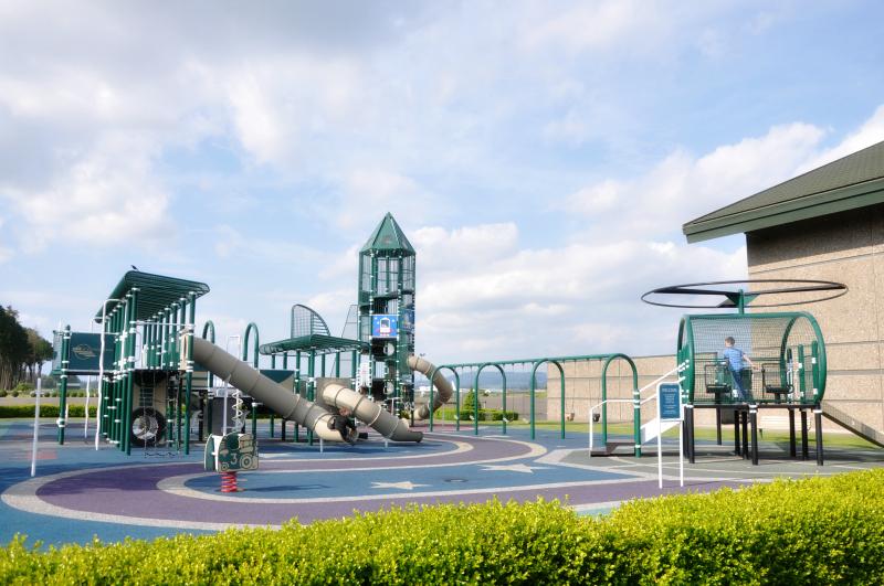 Evergreen Museum Playground @ Mt. Hope Chronicles