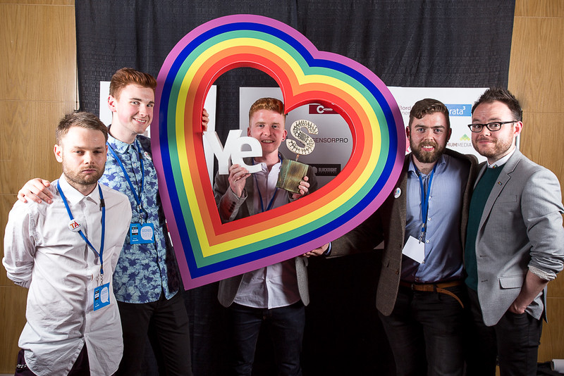 Yes Equality campaign winner Surprise Award