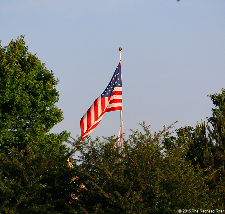 US flag sunshine Memorial Day And The Flag Reminds Us Of Our Freedom