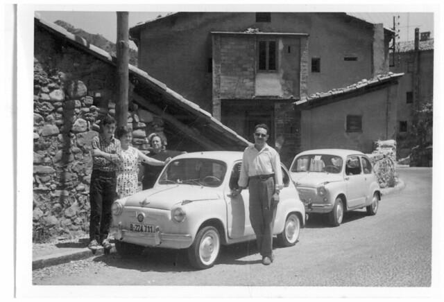 PAREJA DE SEAT 600 (1960)