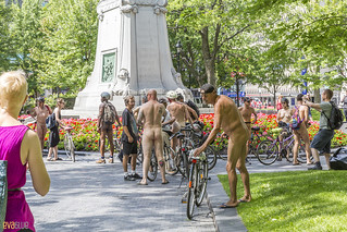 world naked bike ride montreal 60 | by Eva Blue