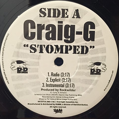 CRAIG G:STOMPED(LABEL SIDE-A)