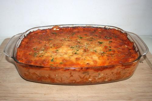 34 - Gyros kritharaki casserole - Finished baking 02 / Gyros Kritharaki Auflauf  - Fertig gebacken 02