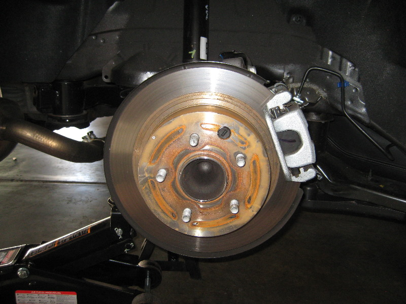 ... 2014 Nissan Altima Sedan   Checking Rear Brake Rotor, Bracket U0026 Caliper    Changing Pads