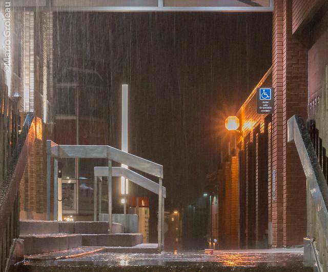 Il pleut sur Trois-Rivières