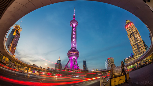 Pearl Tower at dusk | by sama093