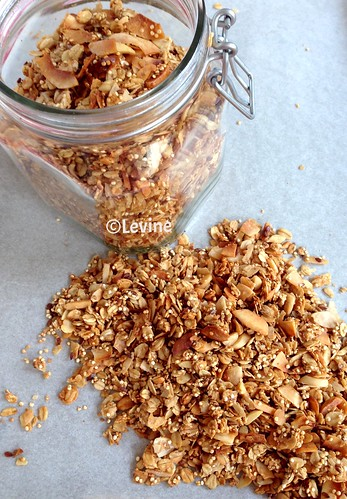 Granola met kokos en quinoa