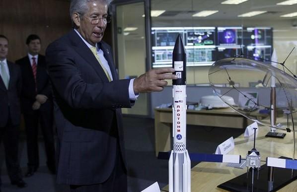 Este viernes, el lanzamiento de satélite mexicano Centenario