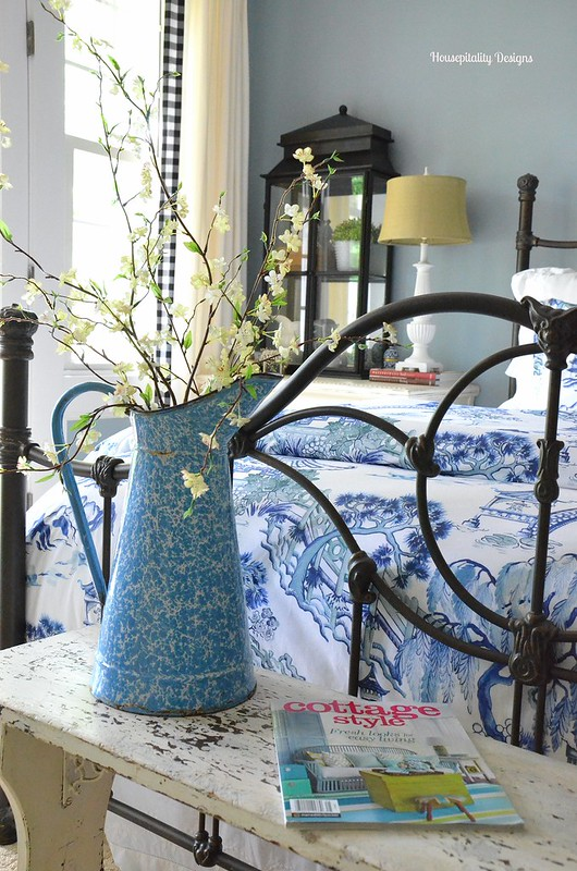 Guest Room Vintage Bench-Housepitality Designs