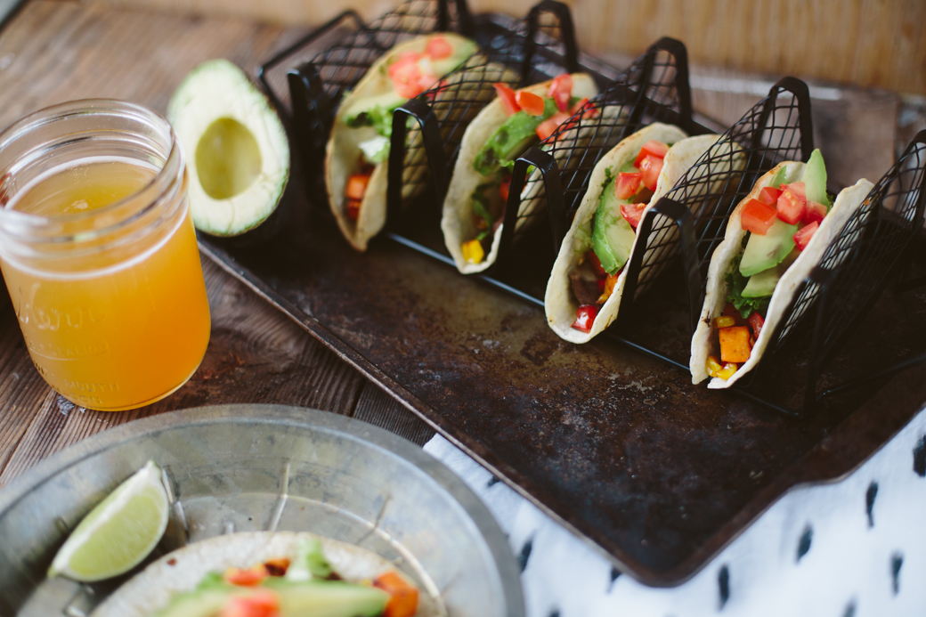 Sweet Potato Steak Tacos