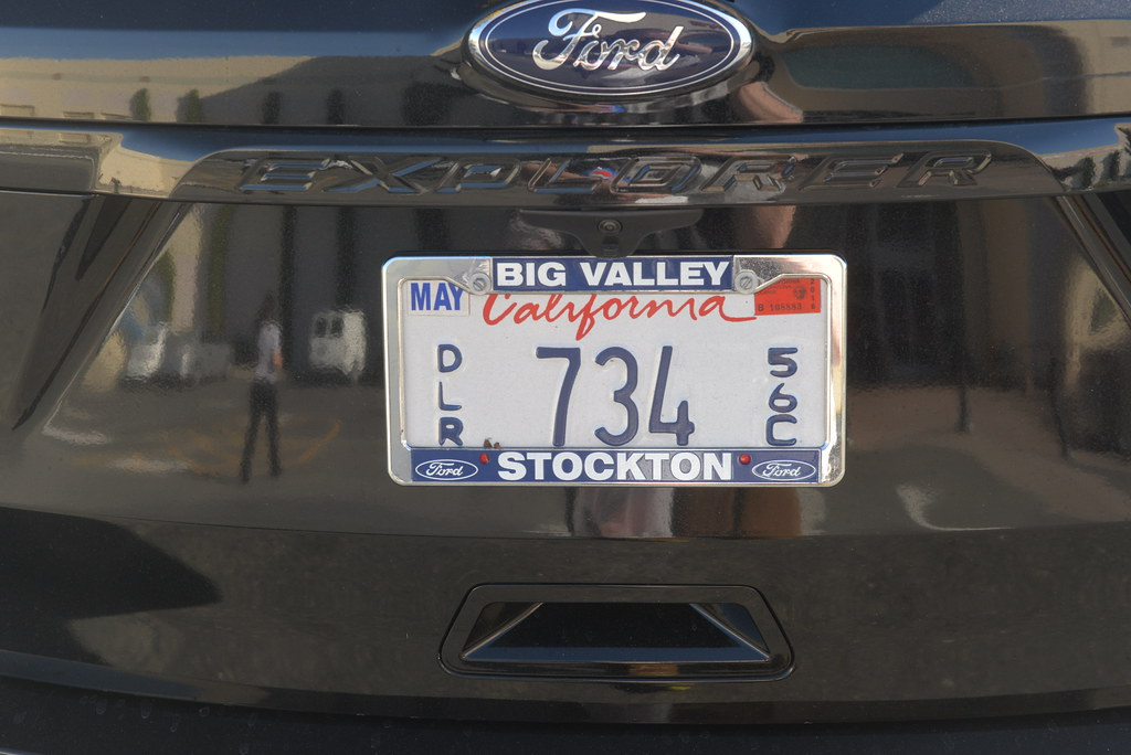 Image result for california dealer plate