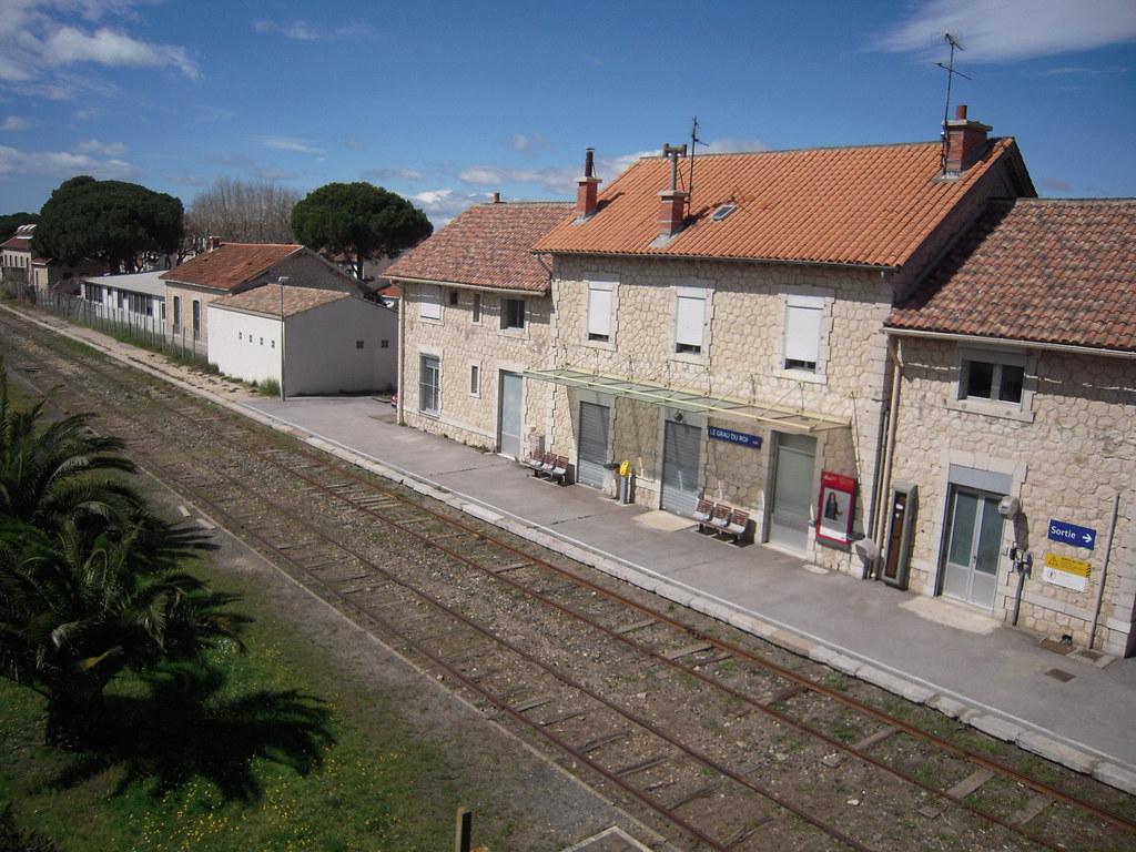 Gare du grau du roi le grau du roi est desservie par des - Office du tourisme grau du roi languedoc roussillon ...