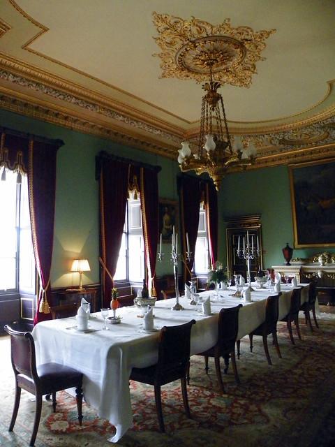 Wimpole Hall Dining Room Light Brass