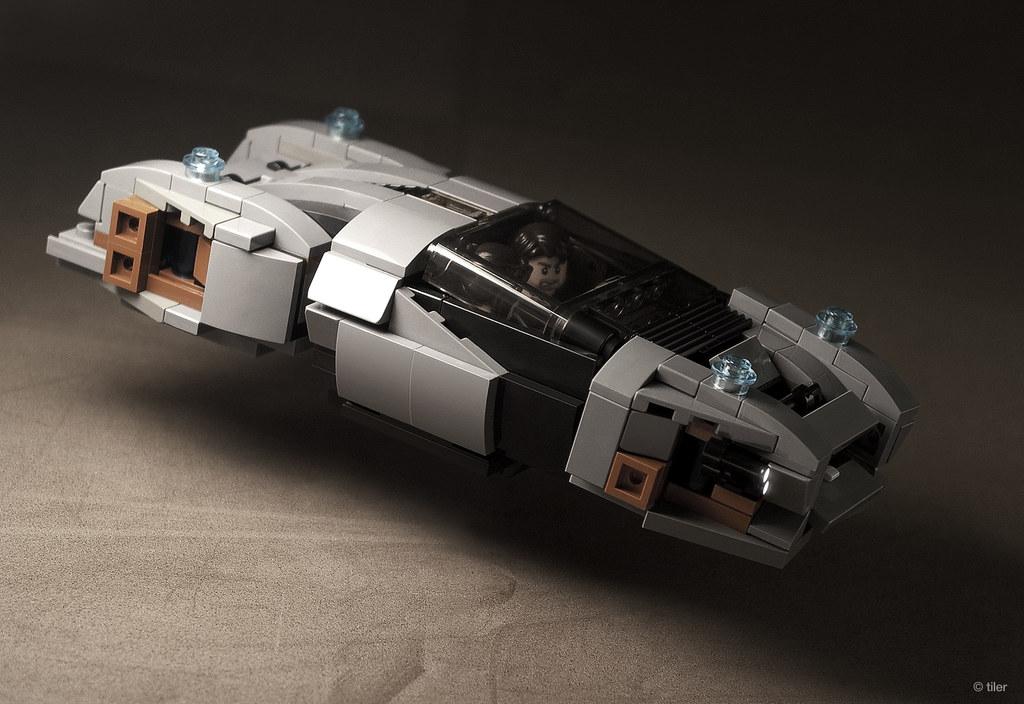 Total Recall: Getaway Hover Car | More shots (interior ...